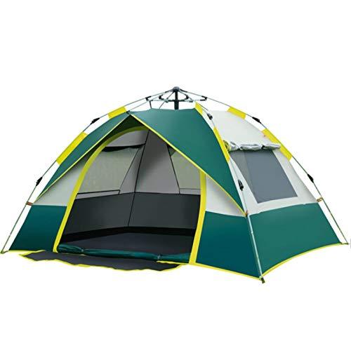YFFSBBGSDK Tenda da Campeggio 1-4 Persone Tenda da Campeggio Automatica Comoda per Zaino da Famiglia Tenda da Pesca da Campeggio
