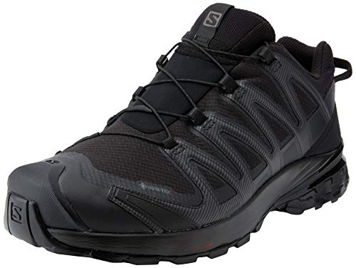 Salomon XA Pro 3D V8 Gore-Tex (impermeabile) Uomo Scarpe da trail running, Nero (Black/Black/Black), 44 EU