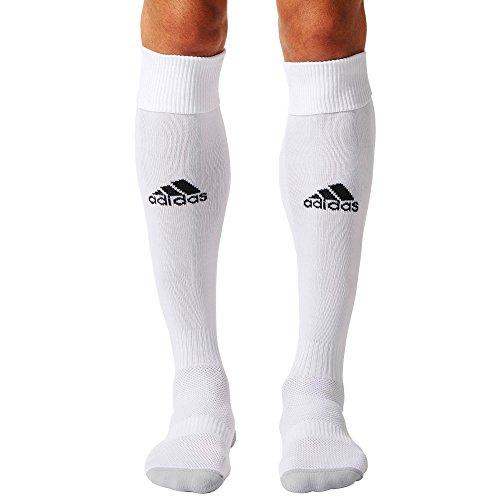 Adidas Milano 16, Calzettoni Uomo, Bianco (White/Black (AJ5905), 40-42