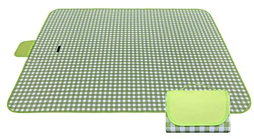 Grande coperta da picnic lavabile | Coperte da spiaggia | Pratico tappetino portatile impermeabile a prova di sabbia | picnic all'aperto | campeggio su erba(color2)