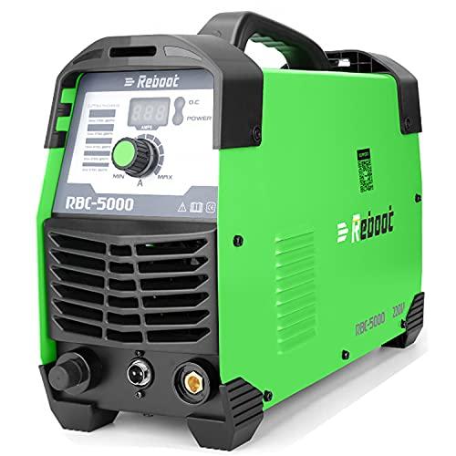 Reboot Taglio al plasma 50Amp 230V Inverter IGBT CUT50 Taglio di qualità 12-15mm Taglio a contatto Taglierina al plasma piccola e portatile