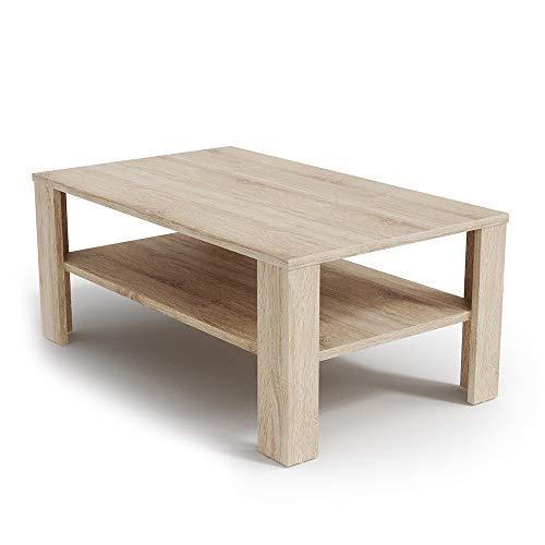 Vicco Tavolino da divano Tavolino da salotto Sonoma Con ripiano Tavolino Divano