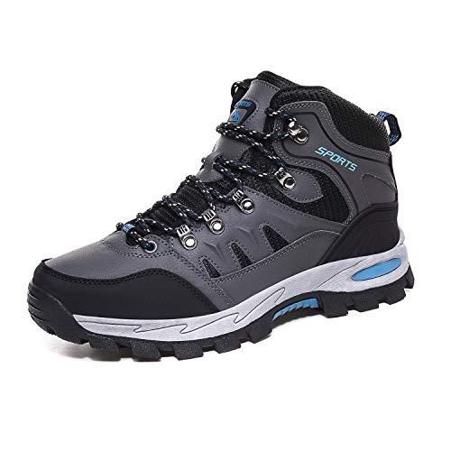 Scarpe da Arrampicata Uomo Donna Alte Scarponi da Montagna Leggero e Traspiranti Outdoor Scarpe da Trekking