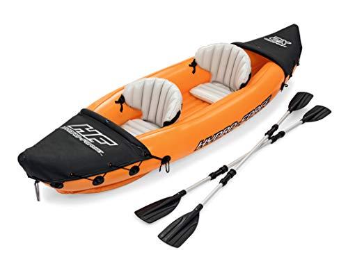Bestway 65077 | Hydro-Force - Kayak Gonfiabile Lite Rapid, 2 posti, 321X88 cm, Pagaie incluse