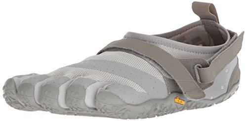 Vibram Fivefingers V-Aqua, Scarpe da Scogli Uomo, Grigio (Grey Grey), 43 EU