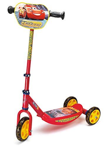 Smoby Monopattino tre ruote Disney Cars 3 3 anni 7600750154, multicolore