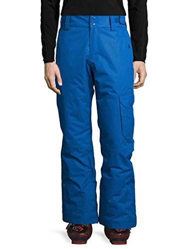 Ultrasport Advanced Pantaloni da sci Cargo da uomo, pantaloni da sci, pantaloni da snowboard, Blu, S