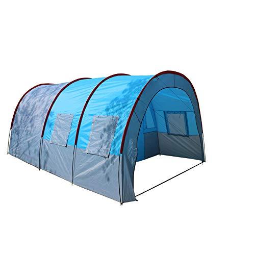 YFFSBBGSDK Tenda da Campeggio Tenda da Campeggio Tela Impermeabile in Fibra di Vetro, Attrezzatura per Tende da Campeggio per Famiglie