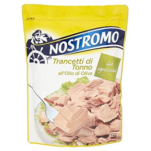 Nostromo Trancetti Di Tonno All'Olio Di Oliva Busta - 1000 Gr
