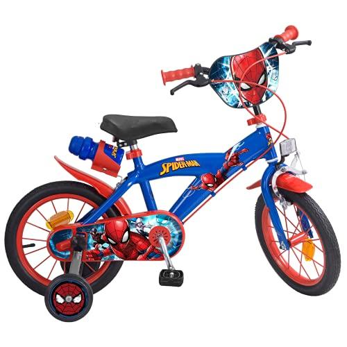 Toims 874 Spiderman Bicicletta per bambini 14 ', 4-6 anni