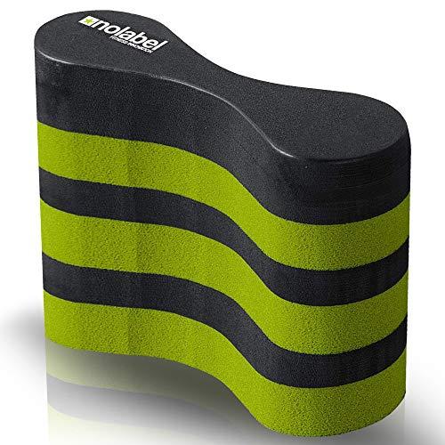 No Label Pullbuoy Supporto per Allenamento Nuoto - Pull Buoy per Nuoto Offre 34 Newton di Galleggiamento migliora la Tua Tecnica di Nuoto Oggi
