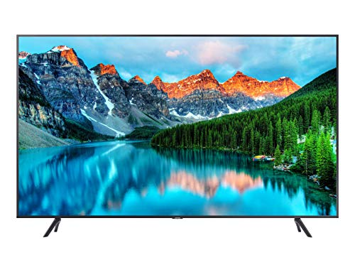 Samsung Business Tv Serie BET-H da 50', UHD 3,840 x 2,160, 250nit, operatività 16/7, Tizen, Dolby Sound System, HDMI, USB, Bluetooth, WIFI, BizTv app, Web Browser, Accesso da remoto, Nero