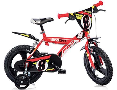 Cicli Puzone Bici 16 Bimbo Rosso Dino Bikes Art. 163 GLN PRO Cross