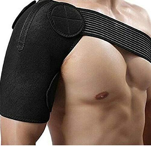Supporto spalla, applicabile sia a destra che a sinistra, per uomini e donne con fascia regolabile, ideale per cuffia dei rotatori e dislocazione spalle.
