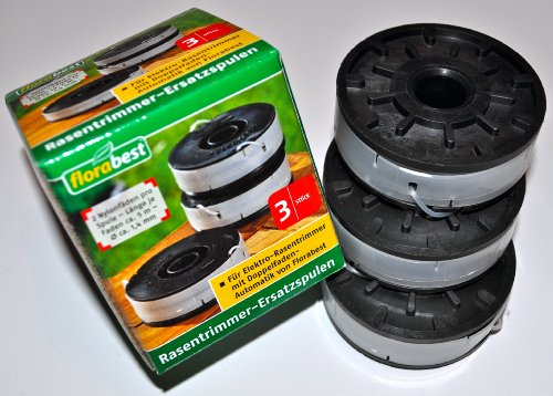 3 x calcicoli trimmer di ricambio bobine FRT 450 A1, FRT 430/10, FRT 430, FRT 500/8 con doppio filo-automatico
