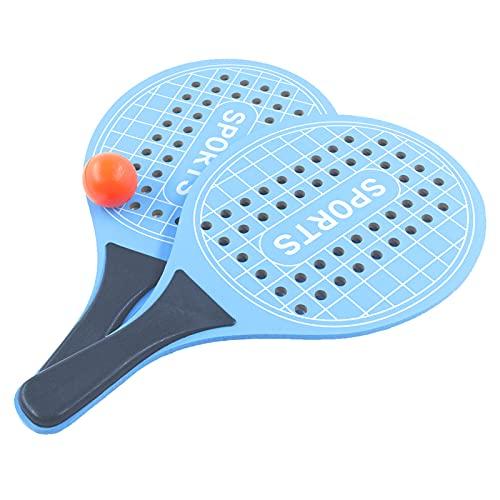 Nimokong Racchetta da beach tennis, Per parco o giardino, Racchette da tennis, Racchette da spiaggia Di legno (blu)