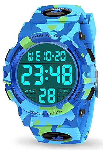 Let's sucher Orologio Bambina 3-10 Anni, LED 50m Orologi Sportivi Digitali Impermeabili Regali di Raffreddamento per Bambini di 6-15 Anni Bambini di 6-15 Anni Regali di Compleanno