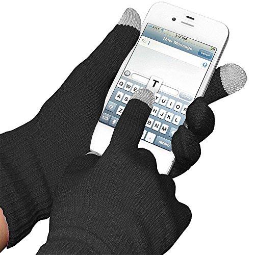 3 paia guanti guanti per Touch Screen dispositivi Smartphone iPhone iPad Tablet - Boolavard TM