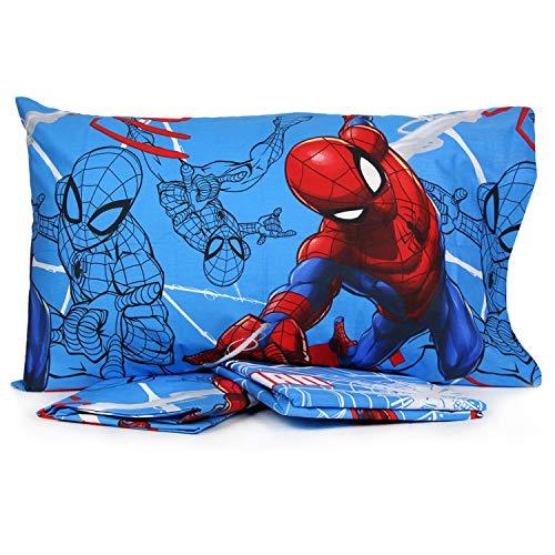 Personaggi Completo Letto Una Piazza Singolo, una piazza e mezza Cotone sopra sotto Federa Marvel Originale (Una Piazza e mezza, Spiderman V2)