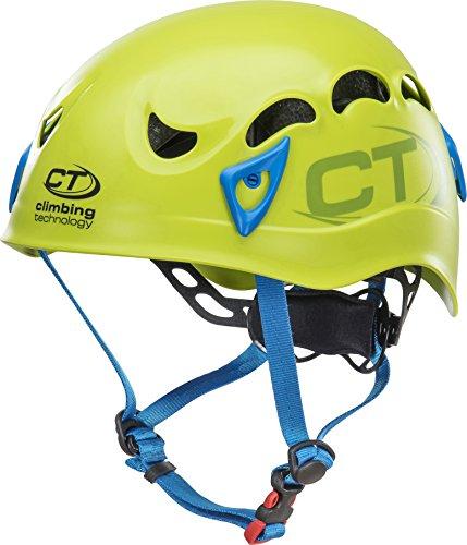 Climbing Technology Galaxy, Casco Unisex – Adulto, Verde/Azzurro, Regolabile da 50-61 Cm