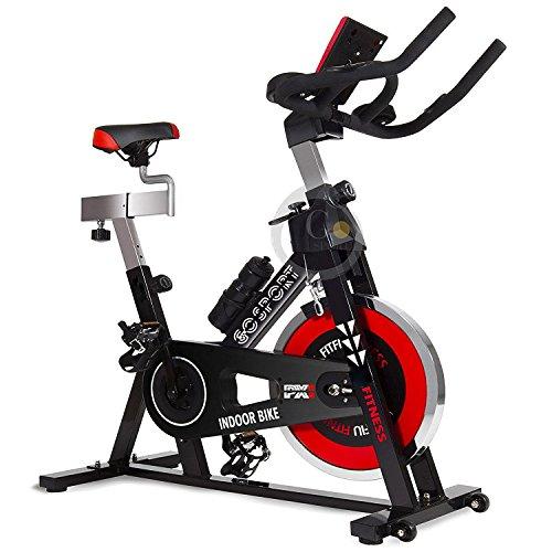 GOVITA Allenamento Spin Bike Professionale Cyclette AEROBICO Home Trainer, Bici da Fitness_Allenamento Spin Bike Cyclette AEROBICO Home Trainer, Bici da Fitness