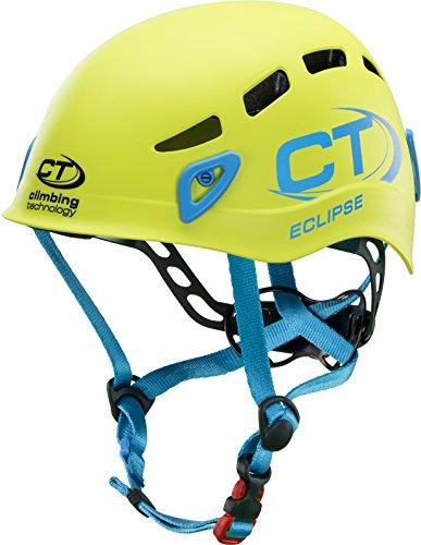 Climbing Technology Casco per arrampicata ECLIPSE Verde regolabile da 48 a 56 cm