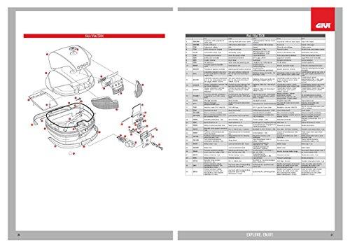 Givi Fascione valigia V46Set 4pezzi z734set