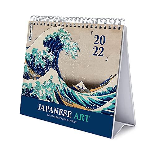 Calendario da Tavolo 2022 Japanese Art - Calendario da scrivania 2022 - Calendario 2022 Arte giapponese Calendario tavolo 2022 - Calendario annuale