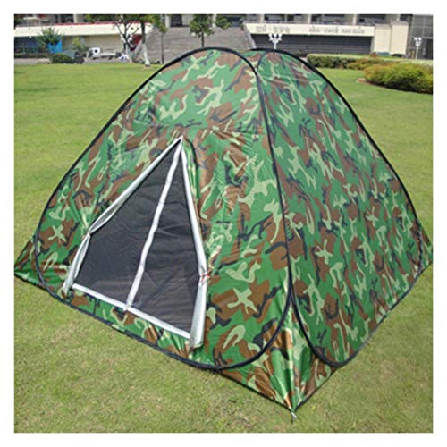Tende campeggio 3-4Persons Tenda pop-up in basso prezzo per viaggi all'aperto Camping Due mimetici di colore pieghevole in una borsa tonda per carry borse facile da pesca tende tende Tenda Blackout Te