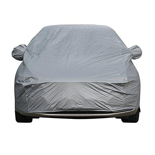 Sipobuy Universale Copriauto Tutto impermeabile antigraffio resistente Carrying Cotone traspirante allineato (S: 400*160*120CM)