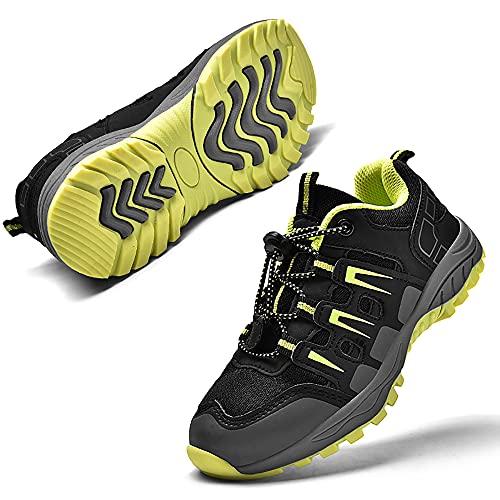 Scarpe Bambini Ragazzi Scarpette da Trekking Ragazze Calzature da Escursionismo Stivali da Arrampicata Esterno Scarpe Trail Running Unisex-Adulto