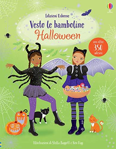 Halloween. Vesto le bamboline. Con adesivi. Ediz. a colori