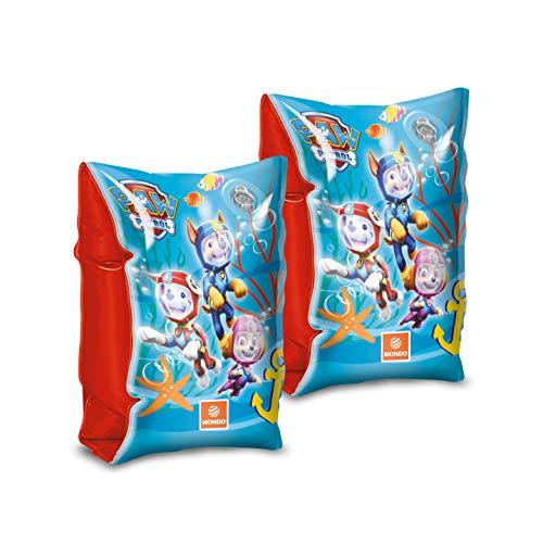 Mondo Toys - Paw Patrol Arm Bands - Braccioli di Sicurezza per bambini - Materiale PVC - Adatti a bambini da 2 a 6 anni con Peso 6-20 kg - 16628