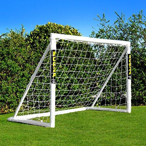 FORZA Porta da Calcio per Bambini- Porta da Calcio con Sistema di Blocco   Rete HDPE 2mm   Attrezzatura da Calcio   5 Misure tra Cui Scegliere… (1,8m x 1,2m)